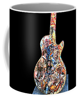 Guitar Legends Picking A Gibson Coffee Mug