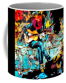 Guitar Man  Coffee Mug