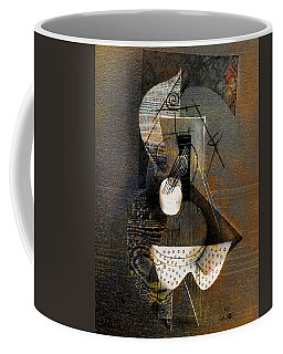 Guitar On Table Still Life Coffee Mug