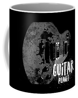 Coffee Mug featuring the photograph Guitar Planet  by Guitar Wacky