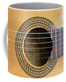 Guitar Rosette Coffee Mug