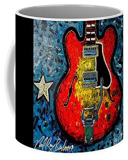 Guitar Star Es335 Coffee Mug