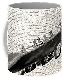 Coffee Mug featuring the photograph Guitar Street Art By Kaye Menner by Kaye Menner