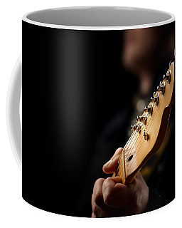 Guitarist Close-up Coffee Mug
