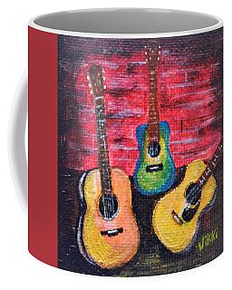 Guitars In Miniature Coffee Mug
