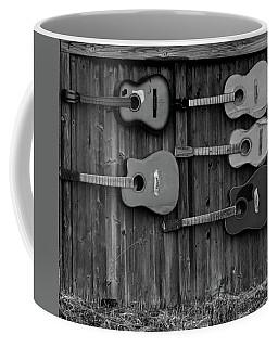 Retired Guitars  Coffee Mug
