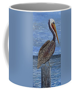 Gulf Coast Brown Pelican Coffee Mug