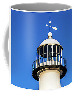 Gulf Coast Lighthouse Seascape Biloxi Ms 3819a Coffee Mug
