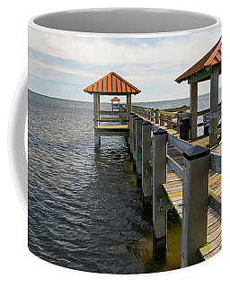 Gulf Coast Pier Coffee Mug