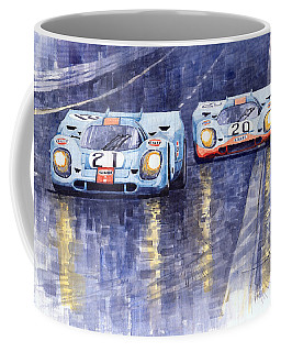 Gulf-porsche 917 K Spa Francorchamps 1970 Coffee Mug