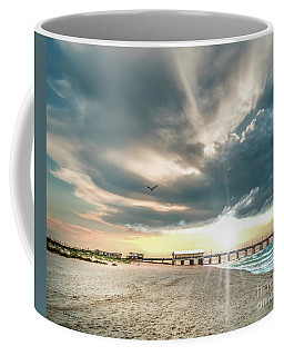 Gulf Shores Al Pier Seascape Sunrise 152c Coffee Mug