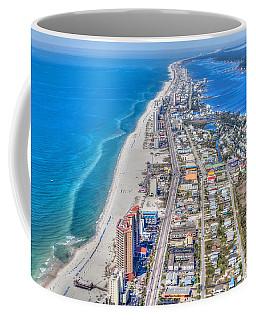Gulf Shores Beach Looking W Coffee Mug