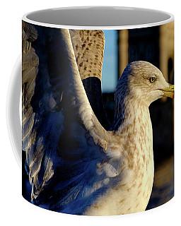Gull At Tower Bridge Coffee Mug