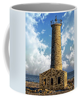 Gull Island Lighthouse Coffee Mug