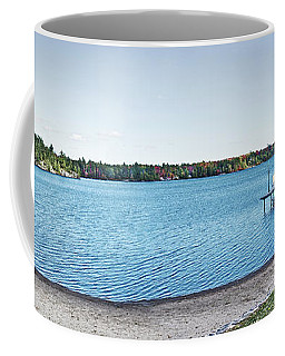 Gull Lake Panorama Coffee Mug