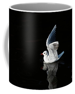 Gull On The Water Coffee Mug by Michal Boubin