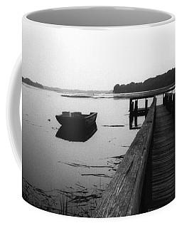 Gullah Coast Bateau Bw Coffee Mug
