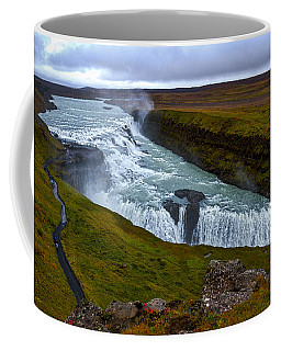 Gullfoss Waterfall #2 - Iceland Coffee Mug