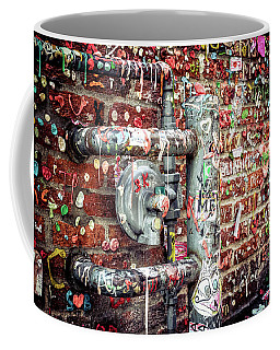 Coffee Mug featuring the photograph Gum Drop Alley by Spencer McDonald