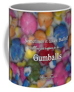 Gumballs #0000d Coffee Mug by Barbara Tristan