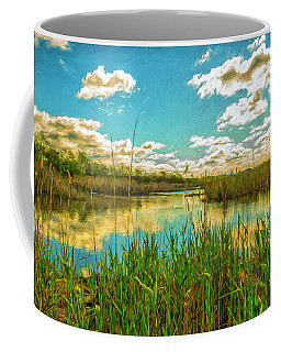 Gunnel Oval By Paint Coffee Mug