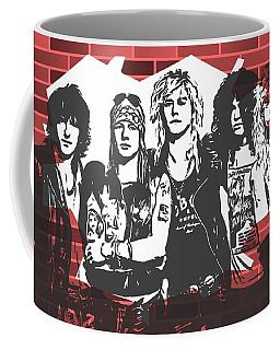 Guns N Roses Graffiti Tribute Coffee Mug