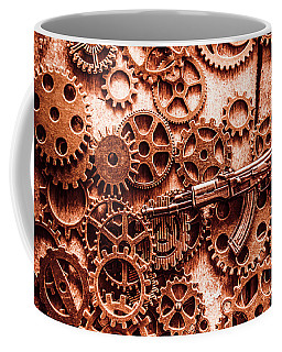 Guns Of Machine Mechanics Coffee Mug