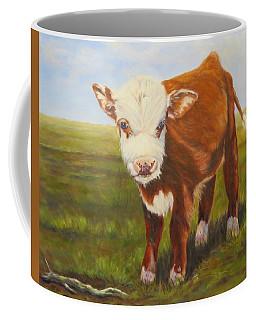 Gus, Cow Coffee Mug
