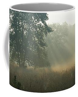 Coffee Mug featuring the photograph Guten Morgen by Heidi Poulin