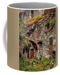 Coffee Mug featuring the photograph Guzelyurt, Turkey - Underground House IIi by Mark Forte