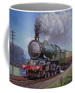 Gwr King On Dainton Bank. Coffee Mug