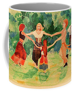 Gypsies Dancing Coffee Mug