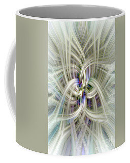 Gypsophila Twirl Coffee Mug