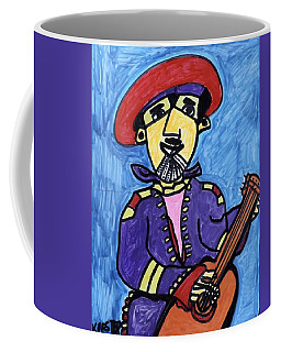 Gypsy Guitarist  Coffee Mug