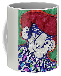 Coffee Mug featuring the tapestry - textile Gypsy Peddler  by Don Koester