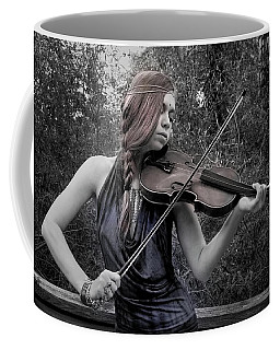 Coffee Mug featuring the photograph Gypsy Player II by Ron Cline