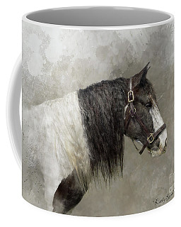Gypsy Vanner Coffee Mug by Kathy Russell
