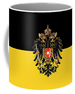 Habsburg Flag With Imperial Coat Of Arms 3 Coffee Mug