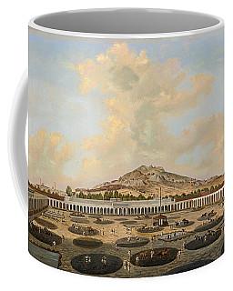 Hacienda Nueva De Fresnillo Con El Cerro De Proano Zacatecas Mexico Coffee Mug