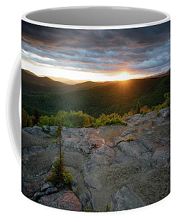 Coffee Mug featuring the photograph Hadley Mountain Sunset by Brad Wenskoski