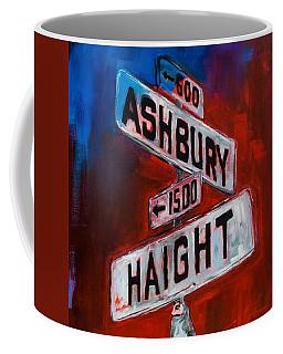 Haight And Ashbury Coffee Mug by Elise Palmigiani