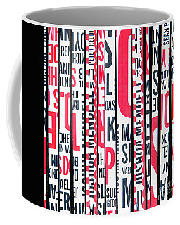 Haiku In Red And Black Coffee Mug