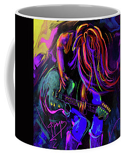 Hair Guitar 2 Coffee Mug