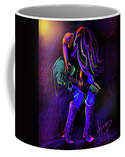 Hair Guitar Coffee Mug