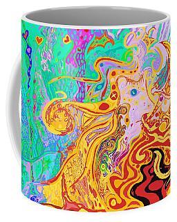Hair Of The Divine Universe Coffee Mug