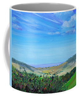 Haldon Hills Sea View Coffee Mug