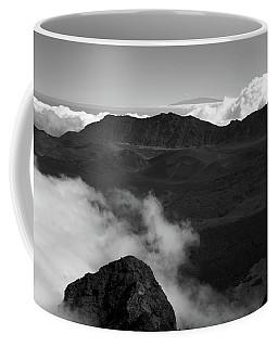 Haleakala B/w Coffee Mug