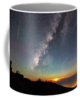 Haleakala Stars Coffee Mug by James Roemmling