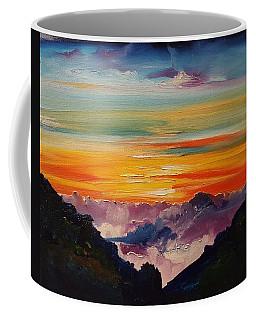 Haleakala Volcano Sunrise In Maui      101 Coffee Mug