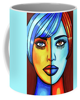 Half Breed Woman Coffee Mug